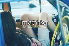 Yes... I am always thinking...