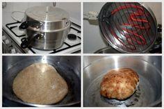 פיתות כיס מאה אחוז מקמח מלא (טבעוני) | כל הדברים הטובים - בלוג אוכל ומתכונים Whole Wheat Pita Bread, Bread Recipes, Cooking Recipes, Food, Chef Recipes, Meals, Yemek, Eten