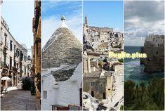 Das Itria-Tal darf bei keiner Rundreise in Apulien fehlen. Zu den Top-Sehenswürdigkeiten zählt Alberobello, die Stadt der Trulli. Pumi, Castel Del Monte, Tolle Hotels, Barcelona Cathedral, Louvre, Building, Travel, Old Town, Travel Report