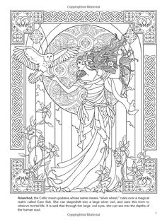 Goddesses Colouring Book (Dover Coloring Books): Marty Noble: 9780486480282: Amazon.com: Books