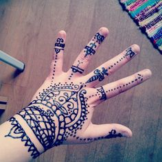 150 Most Popular Henna Tattoo Designs Of All Time nice  Check more at http://fabulousdesign.net/henna-tattoos-designs/