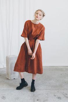 ELLEN DRESS – Linenfox