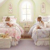 dormitorio para dos niñas