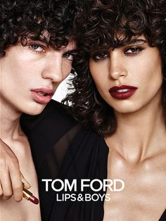 Piero Mendez | TOM FORD Lips and Boys FW16 Campaign | Photographed by Matthias Vriens McGrath