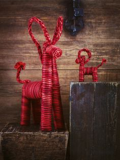 Christmas must-have: VINTERMYS decorative goats #IKEA #Christmas