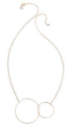 ginette_ny Fusion Necklace | shopbop 18k rose gold, 525-->420