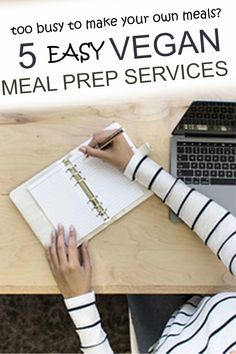 When you are looking for vegan meal prep services, these ideas will help you find the meal plan best for you. Whether you are a begginer vegan, starting a keto and plant based diet, or are doing it for weight loss, these ideas will help eat healthy and easy. Vegan Meal Plans, Vegan Meal Prep, Plant Based Snacks, Plant Based Recipes, Vegan Junk Food, Food Food, Meal Prep Services, Vegan Facts, Meal Prep For Beginners