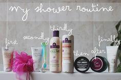 My Shower Routine