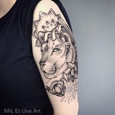 Thank you so much Fiona ! Absolutely loved working on this lioness arm piece today ! :)  #miletune