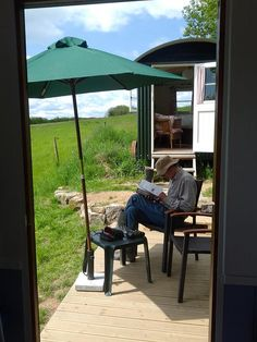 East Penrest Shepherd's Hut, Cornwall. A magic spot in the heart of the country for city folk to experience country life  http://www.organicholidays.co.uk/at/3188.htm