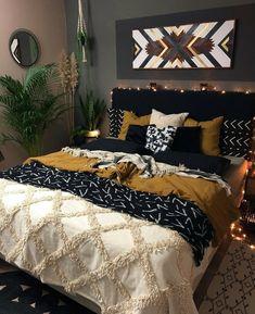 Room Design Bedroom, Room Ideas Bedroom, Home Decor Bedroom, Western Bedroom Decor, Western Rooms, Master Bedroom, Aesthetic Bedroom, Dream Rooms, Home Decor Inspiration