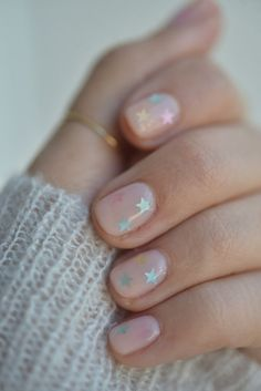 How to Do the Prettiest (Yet Subtle!) Nail Art at Home. A festive look from Color Camp that works year-round.