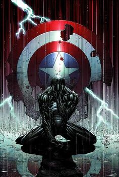 The Death of Captain America by David Finch