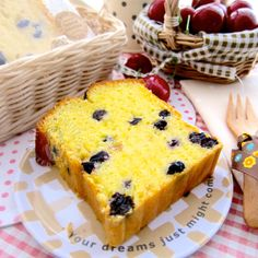 Loaf Cake, Pound Cake, Orange Sponge Cake, Little Kitchen, Cheesecakes, Yummy Cakes, Blueberry, Dessert Recipes, Food And Drink