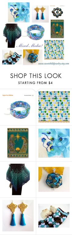"""""""Mixed Media by Celebration Times Etsy Team"""" by sweetchildjewelry ❤ liked on Polyvore featuring Fortuna"""