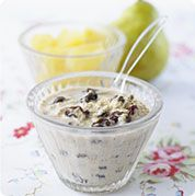 Fruity muesli makes a delicious and nutritious baby breakfast. Baby Food Recipes 6 9, Cooking Recipes, Toddler Recipes, Toddler Meals, Kids Meals, Baby Meals, Toddler Food, Sin Gluten, Baby Breakfast