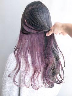 Cute Hair Colors, Girl Hair Colors, Hair Dye Colors, Hair Color Streaks, Hair Highlights, Spring Hairstyles, Pretty Hairstyles, Shot Hair Styles, Long Hair Styles