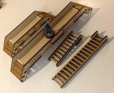 28mm Modular Sci-Fi Buildings -