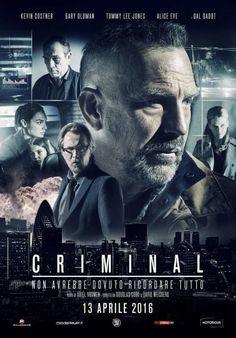 Criminal (2016) Good Movies On Netflix, Good Movies To Watch, Movies Online, Tommy Lee Jones, Kevin Costner, Gary Oldman, Streaming Hd, Streaming Movies, Ryan Reynolds