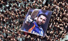Sachin.. the God of cricket
