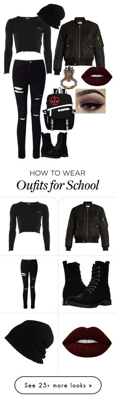 """shfdksjhfk"" by darlinglove05 on Polyvore featuring Topshop, Miss Selfridge, Yves Saint Laurent, Frye, Marvel, SCHA, Alexander McQueen and Lime Crime"