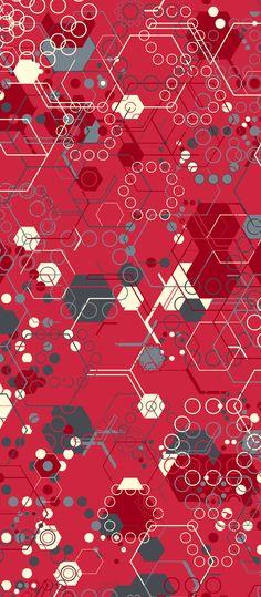 Russfussuk 'PinkLemonade' H3A #pattern #patterndesign #patternprint #hexagon #drink #lemonade #lines #geometric #generative #geometria #cadernos #padrões #russfussuk