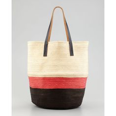 f4650a3b2e707e Marni Colorblock Straw Tote Bag. Tracie Boston · Arm Candy · NWT TORY BURCH  ...