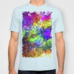 Aquarela_Textura digital  T-shirt by Amanda Araujo - $22.00