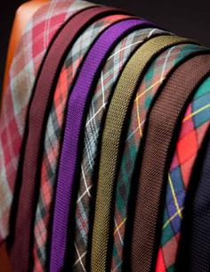 Oh how Danny loves his colorful ties