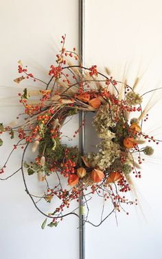 Autumn Wreaths, Holiday Wreaths, Christmas Decorations, Wreath Fall, Spring Wreaths, Summer Wreath, Holiday Decor, Dried Flower Wreaths, Dried Flowers