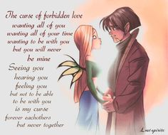 The curse of forbidden love. Cornelia and Caleb were always my big OTP and kinda still are. I simply loved their story and in some ways i can relate to them about the forbidden love. <3 Just a little fanfic poem made by me <3