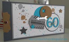 Glückwunschkarte die 3. zum 60. Geburtstag  #artchain