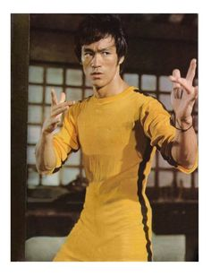 Bruce Lee - I can't even begin to tell you how many of his movies I've seen. During my childhood many of them were your typical poorly dubbed ones or with subtitles on my VCR!