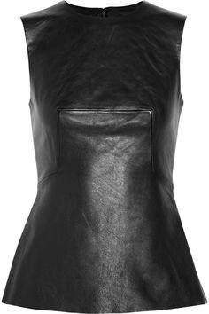 Alexander Wangleather top