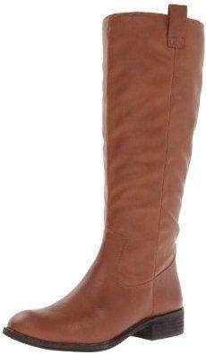 Jessica Simpson Women's Esteem Tan Riding Boot
