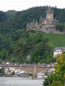 Cochem, Germany.  Wine Country.
