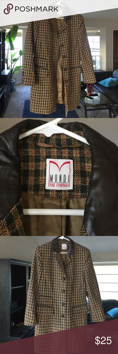 Mondi the company Jacket Excellent condition Mondi The Company Jackets & Coats Blazers