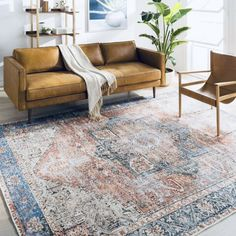 Denim Rug, Washable Area Rugs, Accent Rugs, Online Home Decor Stores, Online Shopping, Rugs In Living Room, Dining Rooms, Terracotta, Rose