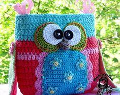 Crochet pattern Flower purse by VendulkaM digital by VendulkaM