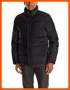 Tommy Hilfiger Men's Classic Puffer Jacket, Black, X-Large - Mens world (*Amazon Partner-Link)