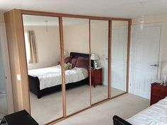 4 DOOR SLIDING WARDROBE SYSTEM FULLY FITTED £999 INC DRAWERS CHOICE OF COLOURS