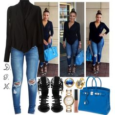 Eudoxie Agnan A fashion look from October 2014 featuring Rundholz cardigans, Boohoo jeans and Giuseppe Zanotti sandals. Browse and shop related looks. Style Outfits, Fall Outfits, Casual Outfits, Cute Outfits, Fashion Outfits, Womens Fashion, Fashion Trends, Casual Chic, Looks Style