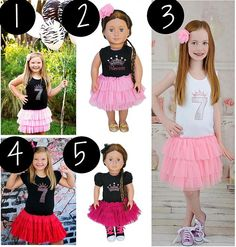 Dresses and matching doll outfits. Sign up to text shop with us by texting JoinDG to 76000!