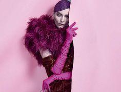 2014  Zuzanna Bijoch's in 'Não Provoque… É Cor De Rosa-Shocking ... #Rose
