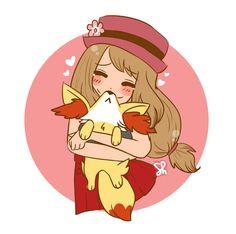 """<3 """"BROS"""" por shiriomi #PokémonXY #KalosQueen"""
