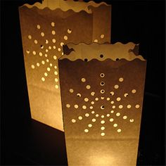 10pcs/lot Sun light Holder Luminaria/Fireproof Paper Lantern Candle Bag For Wedding/Boda/Birthday Outdoor Party Decorative Craft *** To view further for this item, visit the image link.