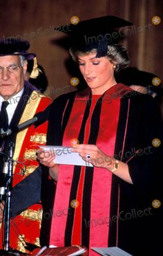 June 17 1988 Diana received the Honorary Fellowship of the Faculty of Dental Surgery of the Royal College of Surgeons of England, at the Diplomates Ceremony held at the College, Lincoln's Inn Fields,  London WC2.