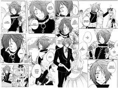Boris Hearts manga mash-up