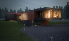 Exterior Architecture - Thea Render