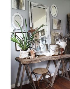 Rustic Country Interiors photos and styling by Lisa Madigan.